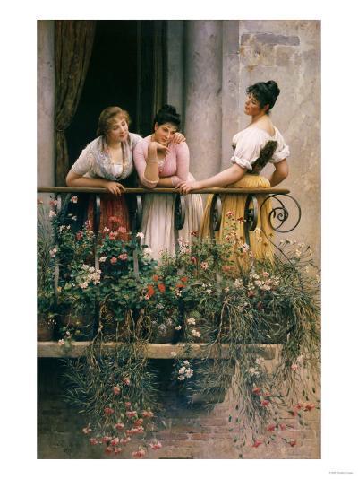 The Balcony-Sir William Beechey-Giclee Print