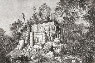 The Ball Court, Chichén Itzá, Yucatan, Mexico--Giclee Print
