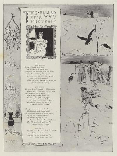 The Ballad of a Portrait-Cecil Aldin-Giclee Print