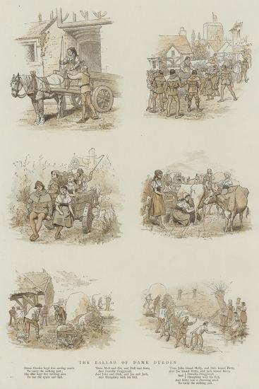 The Ballad of Dame Durden--Giclee Print
