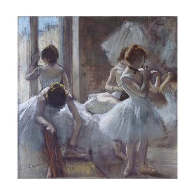 The Ballet Class-Edgar Degas-Giclee Print