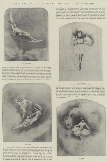 The Ballet-Charles Prosper Sainton-Giclee Print
