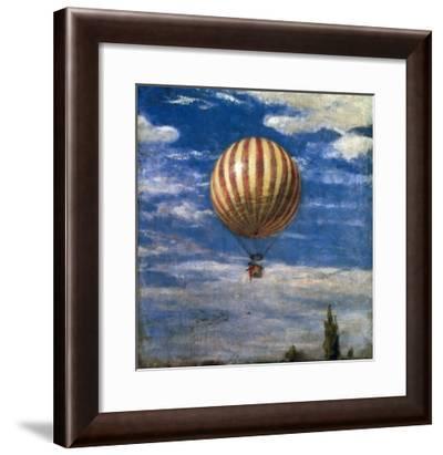 The Balloon, 1878-Paul von Szinyei-Merse-Framed Giclee Print