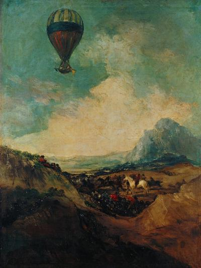 The Balloon, or the Rising of the Montgolfiere-Suzanne Valadon-Giclee Print