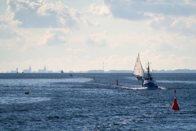 The Baltic Sea, Ferry Passage Hiddensee - Stralsund-Catharina Lux-Photographic Print