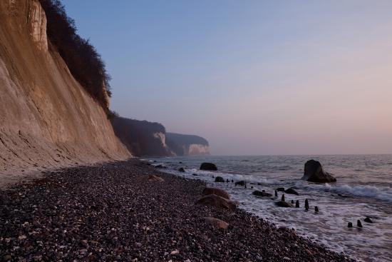 The Baltic Sea, National Park Jasmund, Chalk Rocks-Catharina Lux-Photographic Print