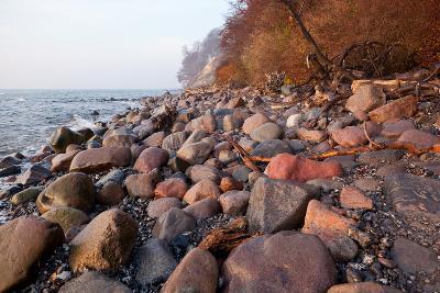 The Baltic Sea, National Park Jasmund, Stony Beach-Catharina Lux-Photographic Print