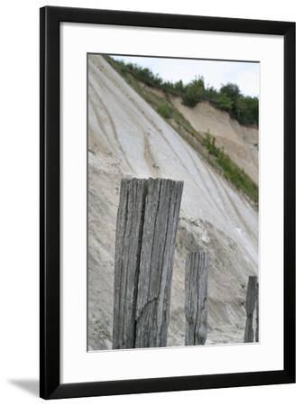 The Baltic Sea, RŸgen, Coast Near Cape Arkona, Old Groynes-Catharina Lux-Framed Photographic Print