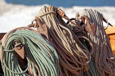 The Baltic Sea, RŸgen, Fishing, Ropes, Anchor-Catharina Lux-Photographic Print