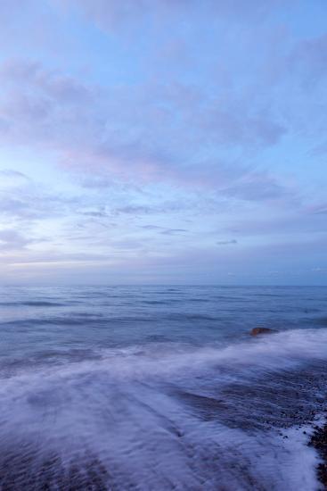 The Baltic Sea, RŸgen, North Beach, Evening-Catharina Lux-Photographic Print