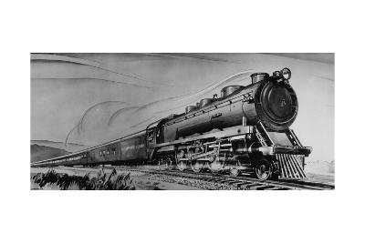 The Baltimore and Ohio-Otto Kuhler-Giclee Print