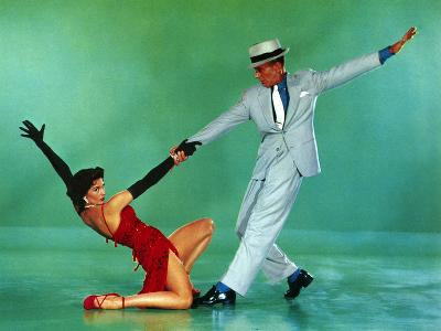 The Band Wagon, Cyd Charisse, Fred Astaire, 1953--Photo