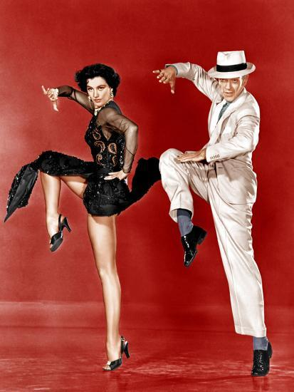 THE BAND WAGON, from left: Cyd Charisse, Fred Astaire, 1953--Photo