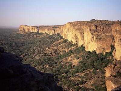 The Bandiagara Escarpment, Dogon Area, Mali, Africa-Jenny Pate-Photographic Print