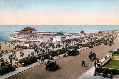 The Bandstand and Promenade, Worthing, West Sussex, Early 20th Century--Giclee Print