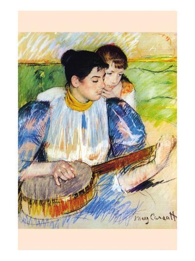 The Banjo Lesson-Mary Cassatt-Art Print