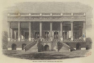 The Bank at Delhi--Giclee Print