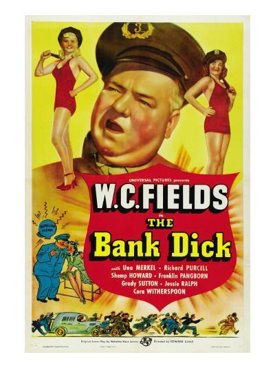 The Bank Dick, W.C. Fields, 1940--Photo