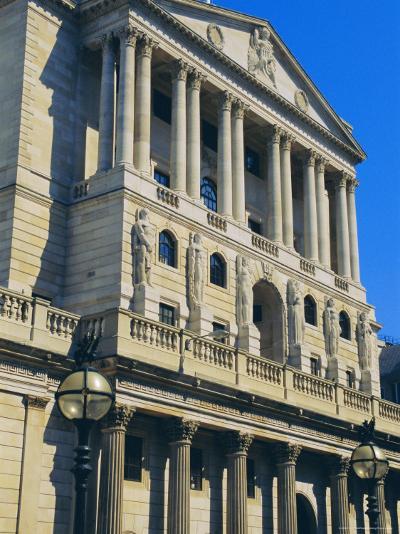 The Bank of England, City of London, England, UK-Fraser Hall-Photographic Print