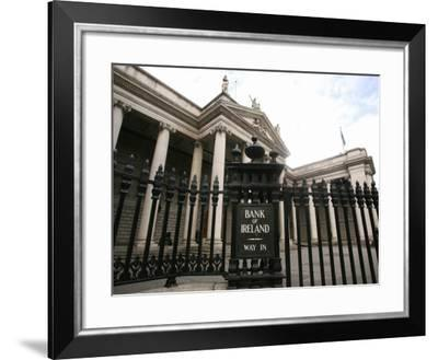 The Bank of Ireland in College Green-Carl De Souza-Framed Photographic Print
