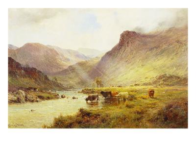 The Banks O'Doune-Alfred De Breanski, Sr^-Giclee Print