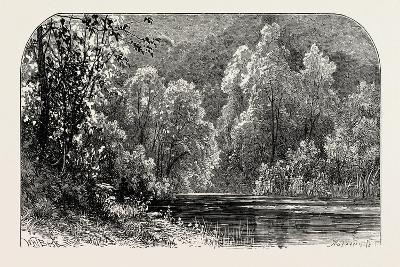 The Banks of the Dove, UK--Giclee Print