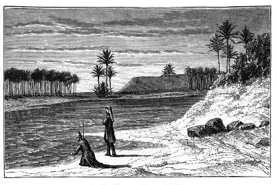 The Banks of the Euphrates, C1890--Giclee Print