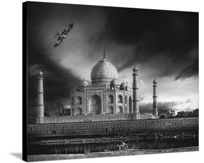 The Banks Of The Jamuna River-Piet Flour-Stretched Canvas Print