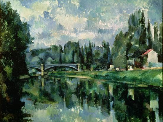 The Banks of the Marne at Creteil, circa 1888--Premium Giclee Print