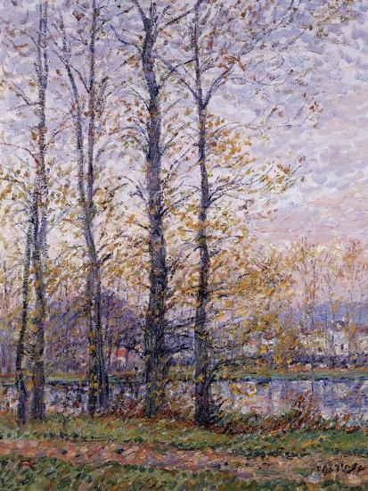 The Banks of the Oise at Precy; Les Bords De L'Oise a Precy-Gustave Loiseau-Giclee Print
