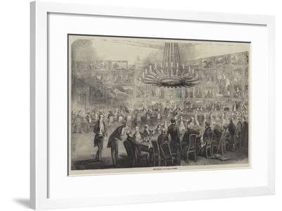 The Banquet at the Royal Academy--Framed Giclee Print