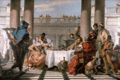 The Banquet of Cleopatra, 1743-1744-Giovanni Battista Tiepolo-Giclee Print