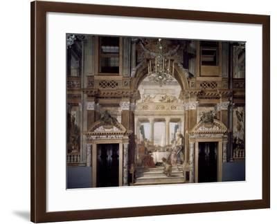 The Banquet of Cleopatra-Giambattista Tiepolo-Framed Giclee Print