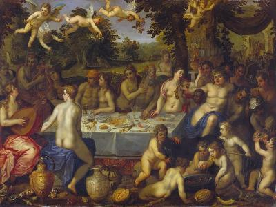 The Banquet of the Gods-Hendrick Van Balen-Giclee Print