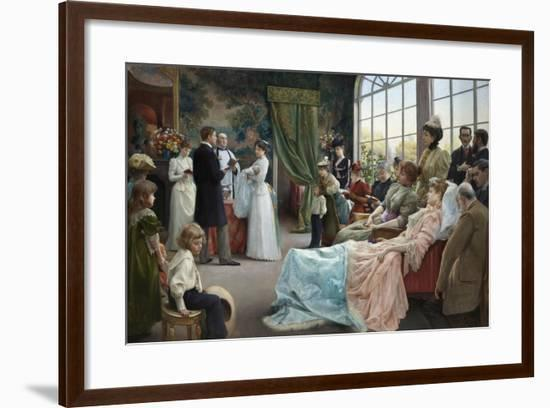 The Baptism, 1892-Julius Leblanc Stewart-Framed Giclee Print