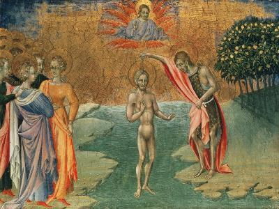 The Baptism of Christ, 15th Century--Giclee Print