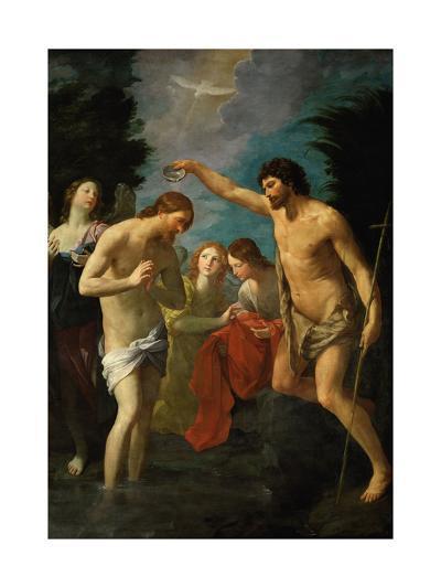 The Baptism of Christ, 1623-Guido Reni-Giclee Print