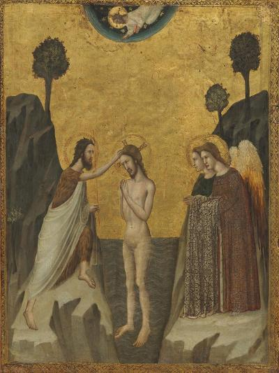 The Baptism of Christ, c.1330/1340--Giclee Print