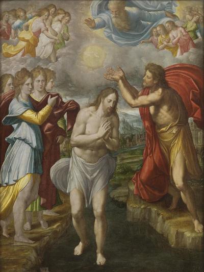 The Baptism of Christ, c.1567-Juan Fernandez De Navarrete-Giclee Print
