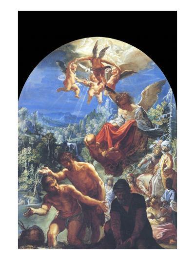 The Baptism of Christ- Eisheimer-Art Print