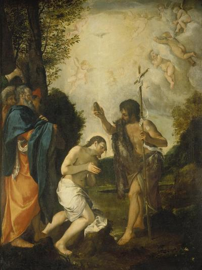 The Baptism of Christ-Lodovico Carracci-Giclee Print