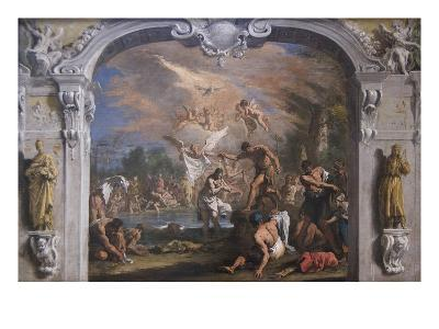 The Baptist of Christ-Sebastiano Ricci-Art Print