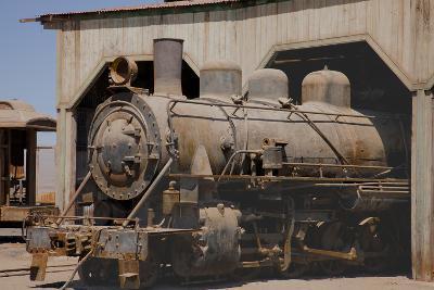 The Baquedano Railway Depot, Chile-Mallorie Ostrowitz-Photographic Print