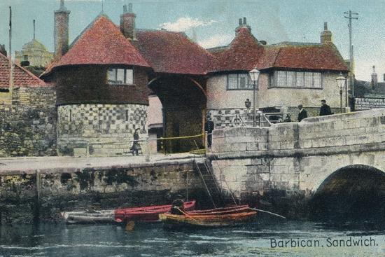 The Barbican, Sandwich, Kent, c1905-Unknown-Photographic Print