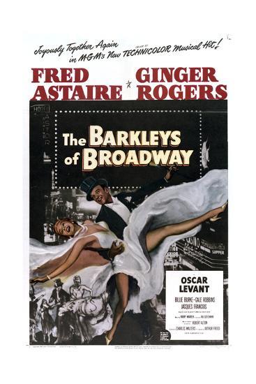The Barkleys of Broadway--Art Print