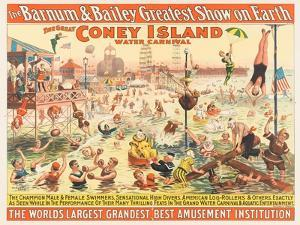 The Barnum and Bailey Greatest Show on Earth - the Great Coney Island Water Carnival, C.1898