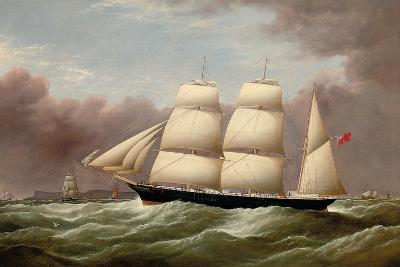 The Barque Alfred Hawley Off the Skerries on Her Way into Liverpool, 1860-G. Dell-Giclee Print