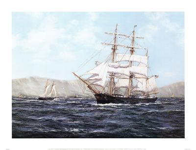 The Barque Annie Johnson-Henry Scott-Art Print