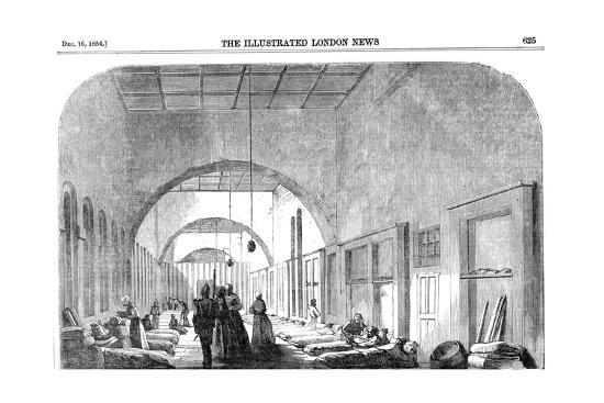 The Barrack Hospital at Scutari During the Crimean War, 1854--Giclee Print