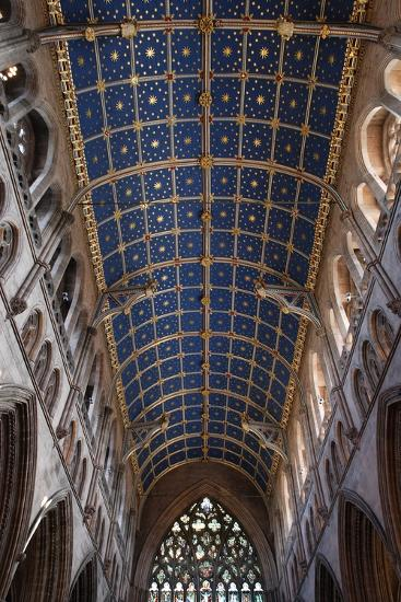 The Barrel Vault of the Central Nave of Carlisle Cathedral (Founded in the 12th Century)--Photographic Print